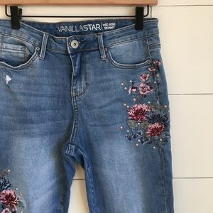 Vanilla Star Jeans - High waisted skinny jeans mid rise jeggings